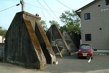 格納庫の基礎