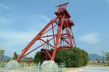 三井田川炭鉱 竪坑櫓