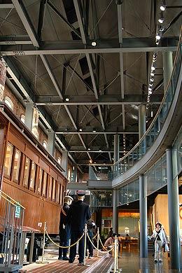 九州鉄道記念館の内部