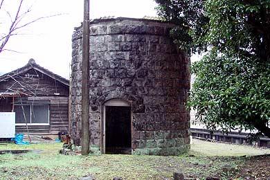 大畑駅 給水塔