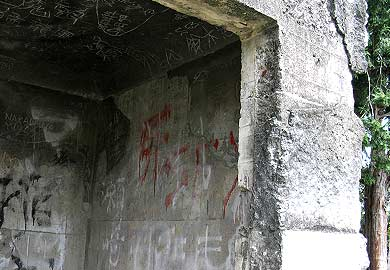 黒石原の謎の遺構