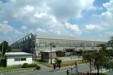 旧三菱重工熊本航空機製作所 組立工場