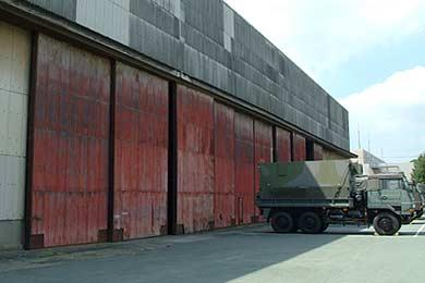 組立工場 当時の扉