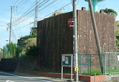 大町町の煉瓦遺構