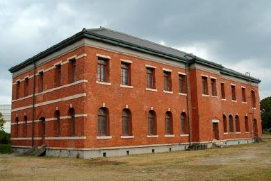 官営八幡製鐵所旧本事務所 裏側