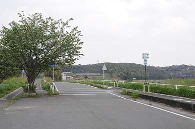 山鹿温泉鉄道との分岐地点