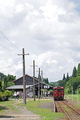 JR肥薩線 矢岳駅