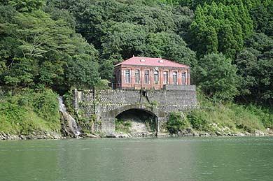 修復後の深水発電所