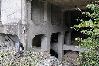 麻生産業山田炭鉱のホッパー