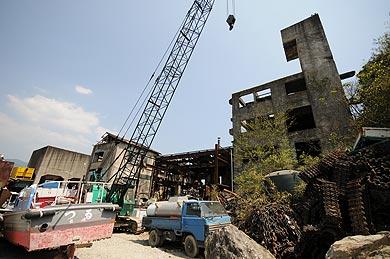 三菱古賀山炭鉱 施設跡