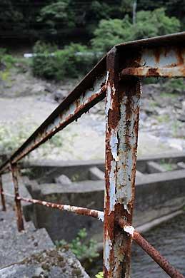 祝子川発電所 取水施設