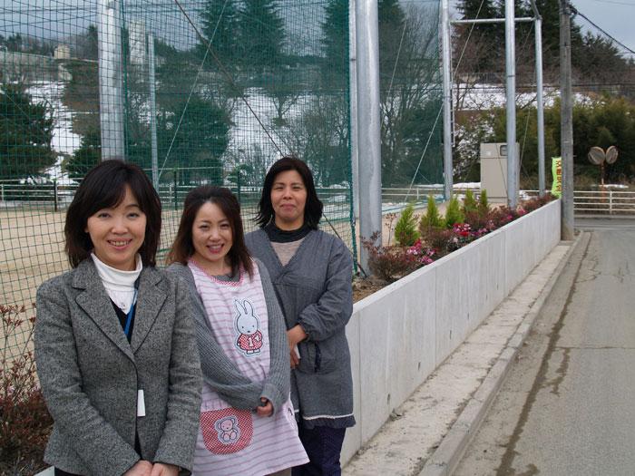 飯舘3校合同(飯樋・臼石・草野)小学校の先生方
