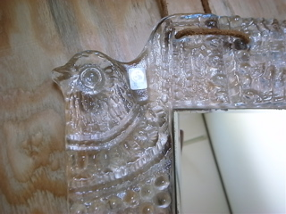 小鳥ガラスオーナメント