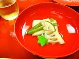 精進料理・筍のお吸い物