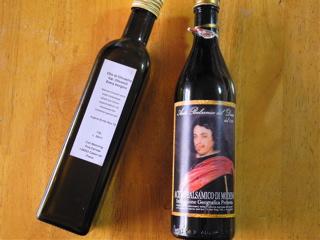 オリーブオイルとバルサミコ
