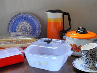 昭和レトロのキッチン&テーブルウェア
