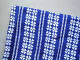 四ツ葉のクローバー藍染め生地 90cm幅