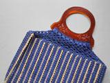 編みこみ手提げバッグ