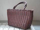 手編みレザーバッグ