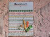1979年DDRハータンガー刺繍の本 Durchbruch