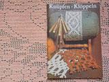 1980年DDR手芸本 Knupfen-Kloppeln