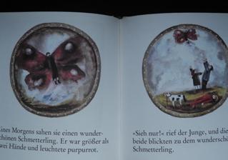 ドイツ語絵本 Trauermantel und Birke / 絵:G.Ruth Mossner