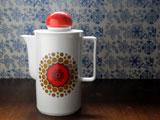 Schirnding BAVARIA 赤いツマミのコーヒーポット