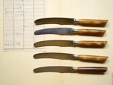 ROSTFREI ベークライトのナイフ