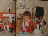 1985年 人形写真が掲載された手芸本 Naehst Du mit?