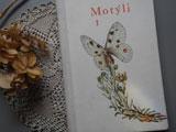 チェコ語の古い図鑑 Motyli 1 〜蝶々〜