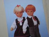 fromドイツ 人形のポストカード