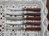 fromドイツ Rostfrei キャラメル色ハンドルのナイフ