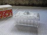 カネボウ ノベルティ プラスチックのシルバーケース