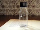 SIBATA ねじ口・角型ボトル 125ml