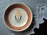 スロヴァキア NOVOCHEMA LEVICE 玉のような花の飾り皿