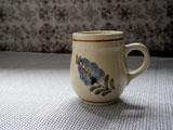 淡く滲んだお花のぽってりカップ