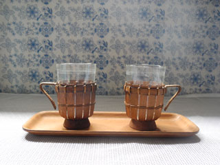 SCHOTT JENAER GLAS ホルダー付きカップ