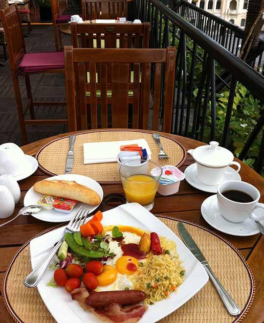 ホテルノ朝食