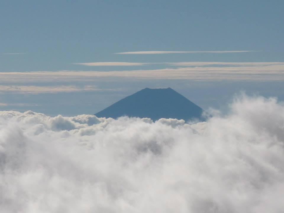 2番目から見る富士山