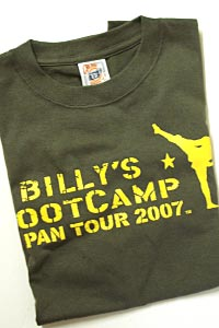 Billy's Bootcamp 2007Japan Tour T-shuit