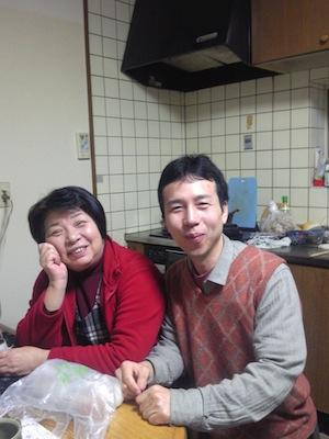 渡辺典子さんと興野
