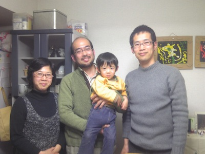 斉藤陽子、斉藤貞三郎、斉藤瑛哲、成田泰士さん