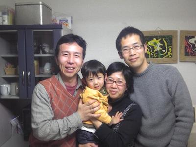 興野、斉藤陽子、斉藤瑛哲、成田泰士さん