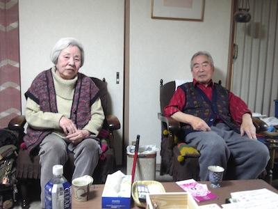 山下満智子さんと敏久さん