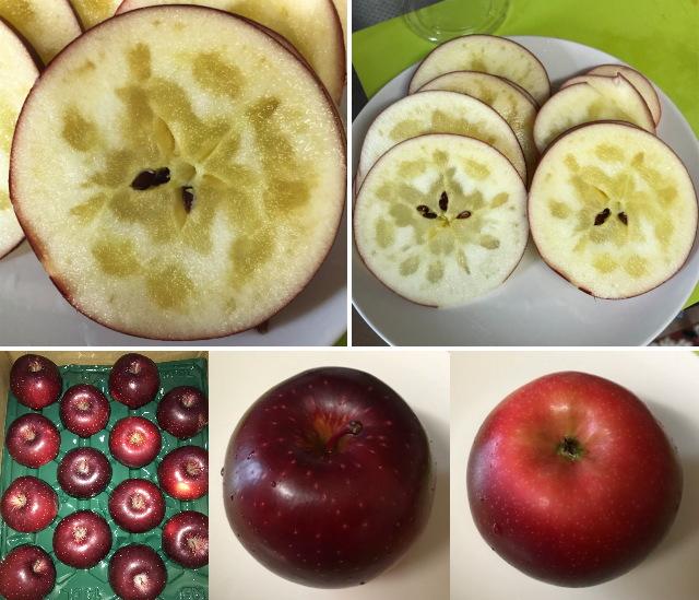 青森りんご、北紅(きたくれない)