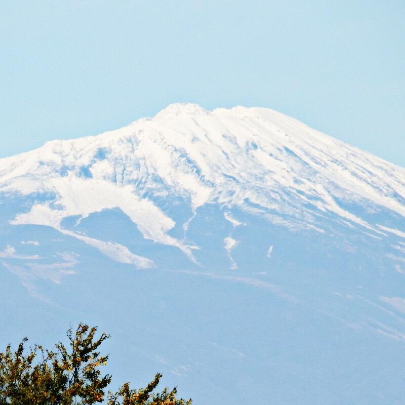 鳥海山冠雪
