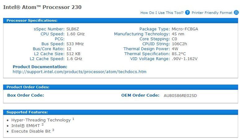 IntelAtomProcessor230