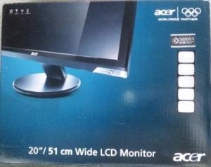 acer P5シリーズ 20インチワイド液晶ディスプレイ ブラック P205HCBMD