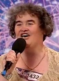 英国歌姫Susan Boyle スーザンボイルb