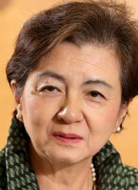 滋賀県の嘉田知事とMr.ビーンは似ている1